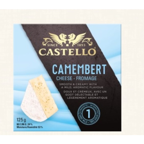 Camembert Brie Castello