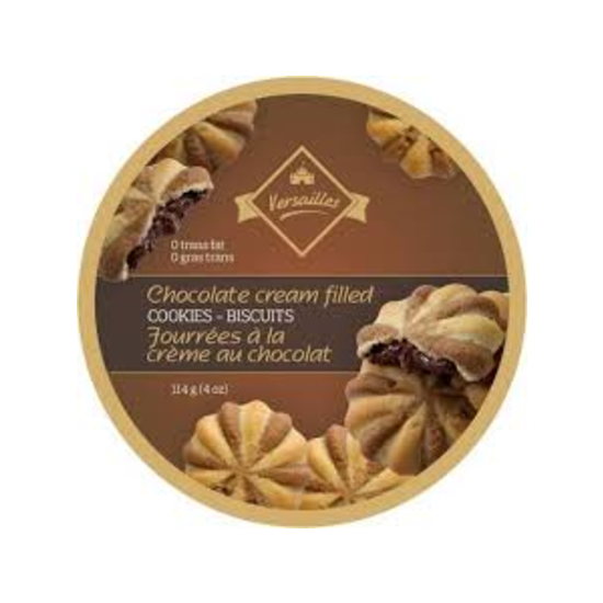 Chocolate Cream Filled Cookie Tins