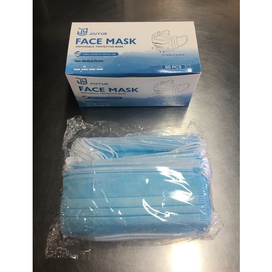 Disposable Face Masks (3 Ply)