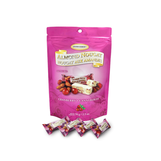 Nougat Soft Almond Cranberry