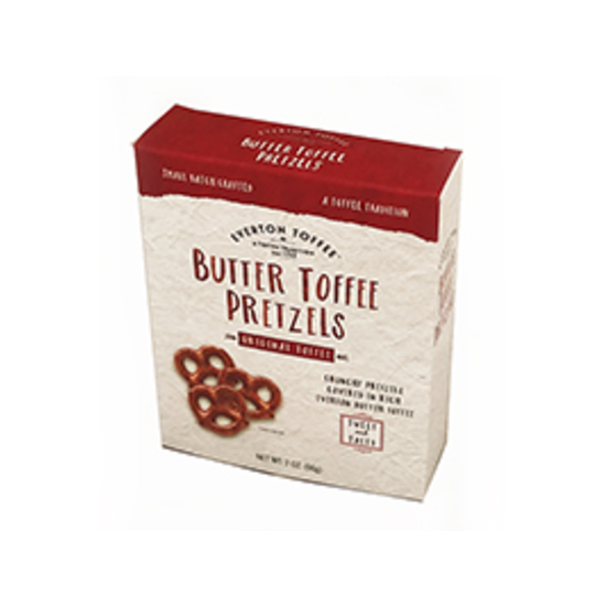 Butter Toffee Pretzel Box