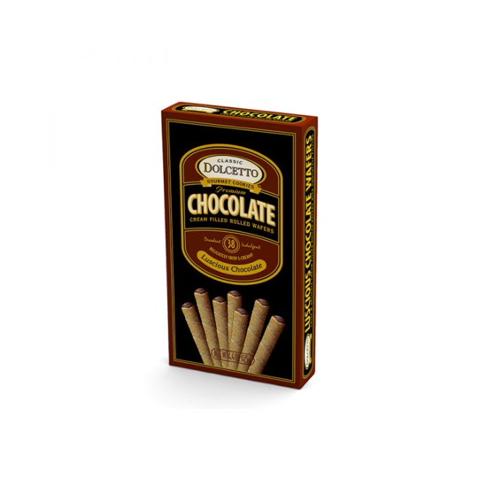 Chocolate Wafer Rolls Box