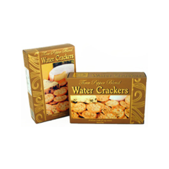 Three Pepper Water Crackers Gold